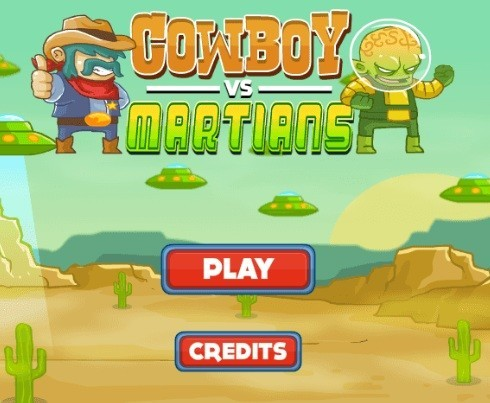 Review on Great games 'Cowboy-VS-Martians'