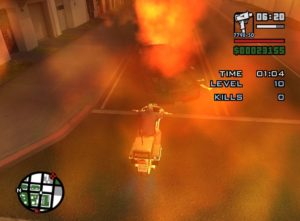 Grand Theft Auto: San Andreas Mod Cleo Easy to install invincibility in Vigillante mission