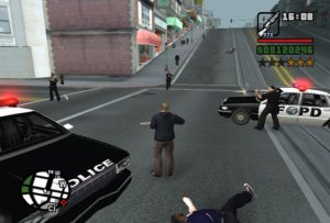 GTA SA gaming cleo Police rebel mod