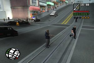 Modding of GTA SA gaming cleo Police rebel mod